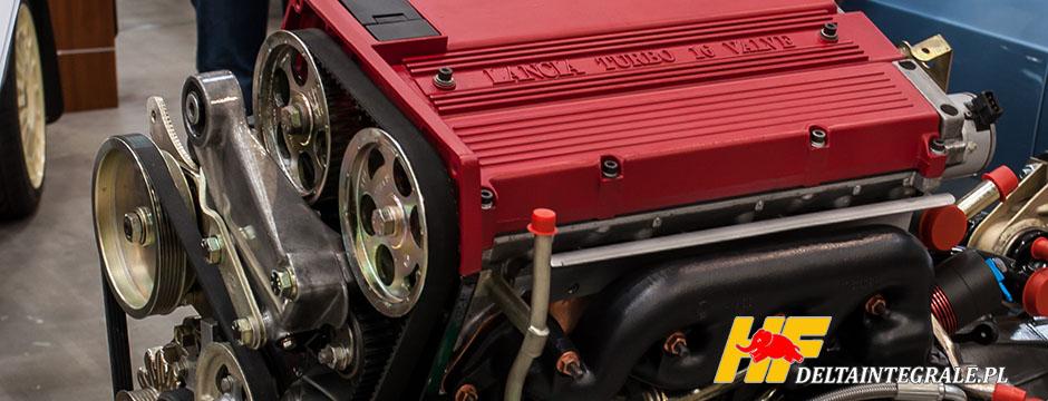 Silnik Lancia Prisma Integrale EVO