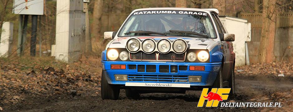 Rajdowa Lancia Delta Integrale