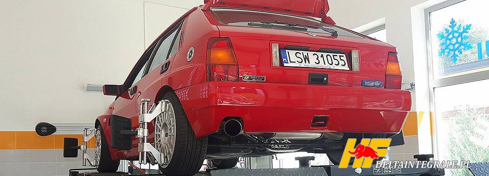 Lancia Delta Integrale EVO do poprawek mechanicznych